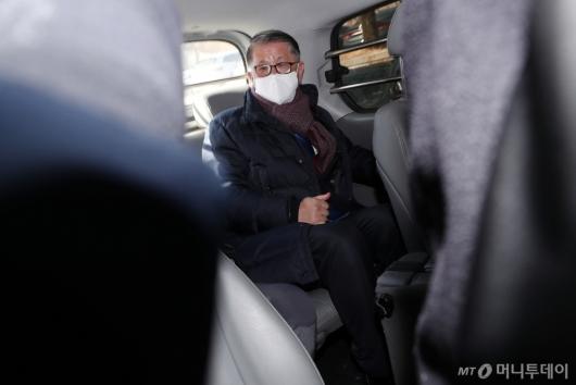 [사진]구속기로 놓인 최신원 회장