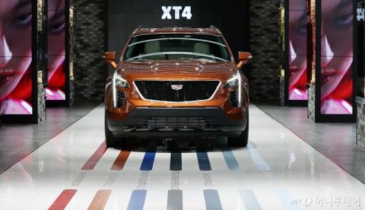 [사진]캐딜락, 새로운 엔트리급 럭셔리 SUV 'XT4' 출시