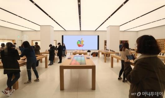 [사진]국내 두 번째 애플스토어 26일 개장
