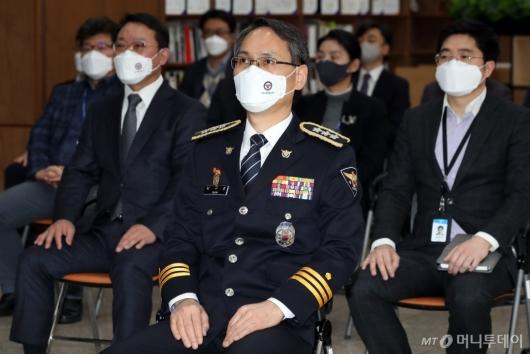 [사진]남구준 경찰청 초대 국가수사본부장 취임식