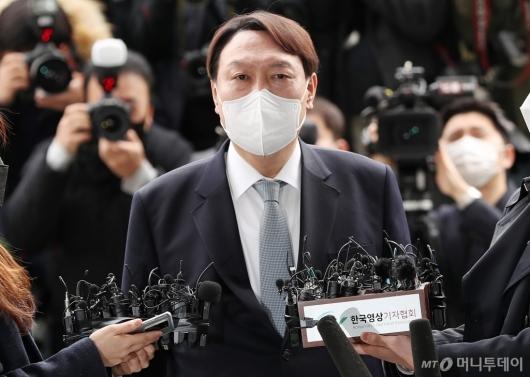 """[사진]윤석열 """"오늘 총장 사직하려한다"""""""