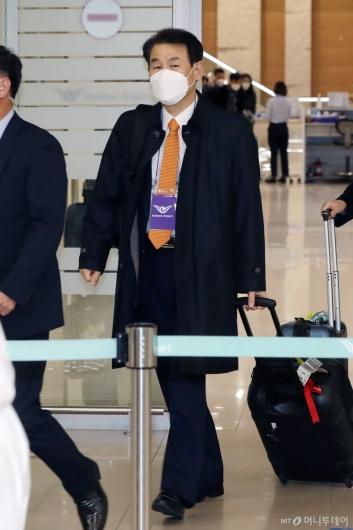 [사진]귀국하는 정은보 한미 방위비 대사