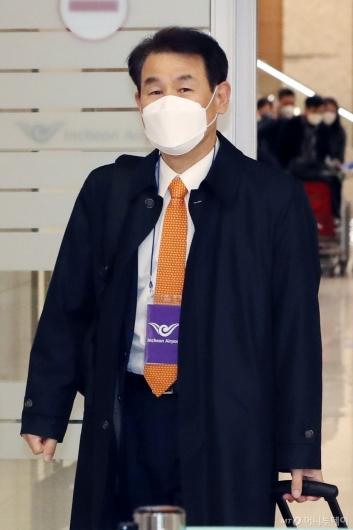 [사진]정은보 한미 방위비 대사 귀국