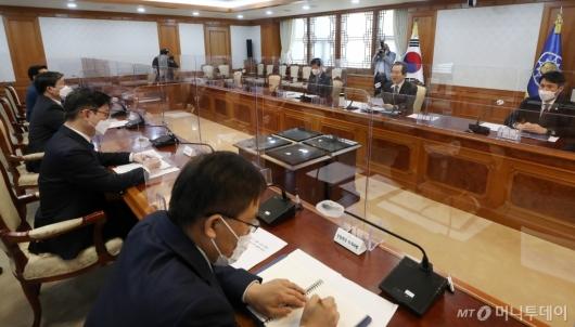 [사진]'LH 투기의혹' 긴급관계기관 회의