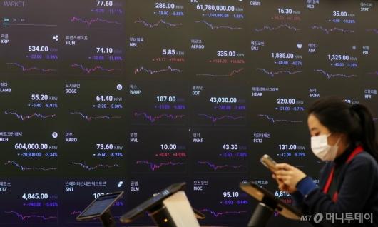 [사진]비트코인 반등, 코인 시장 상승할까