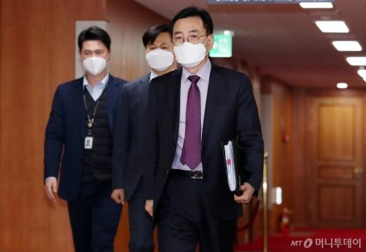 [사진]검경 실무협의회 참석하는 최승렬 국수본 수사국장