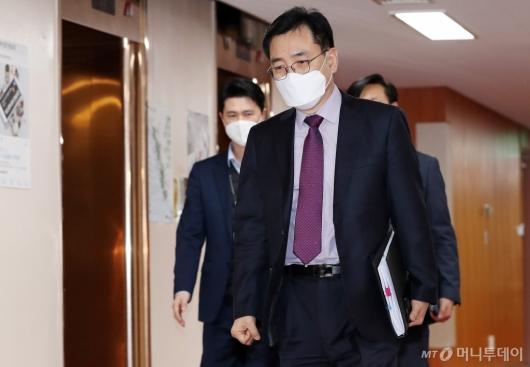 [사진]최승렬 수사국장 'LH 투기의혹' 실무협의회 참석