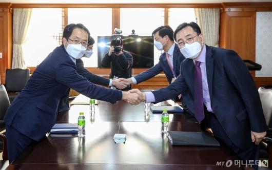 [사진]'LH 투기 의혹' 검경 실무협의회