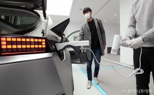 [사진]아이오닉5, 자동차를 보조배터리처럼