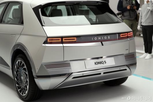 [사진]포니와 닮은 전기차 '아이오닉5'
