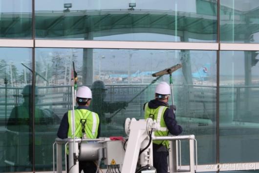[사진]인천공항, 봄맞이 환경정비 시행
