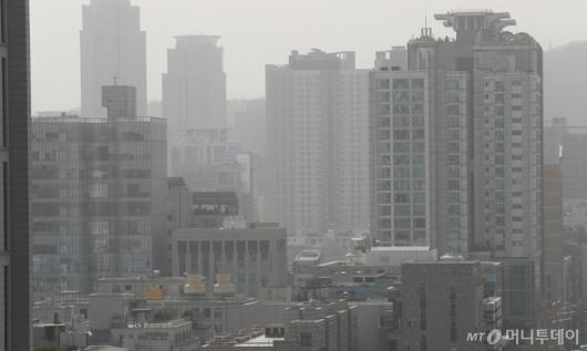 [사진]미세먼지 '매우나쁨'