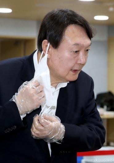 [사진]'윤석열입니다'