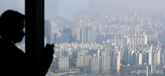 [사진]서울 소형 아파트 평균 매매가격 22.7% 상승