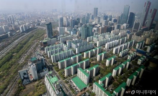 [사진]서울 대형 아파트값 평균 22억원 돌파