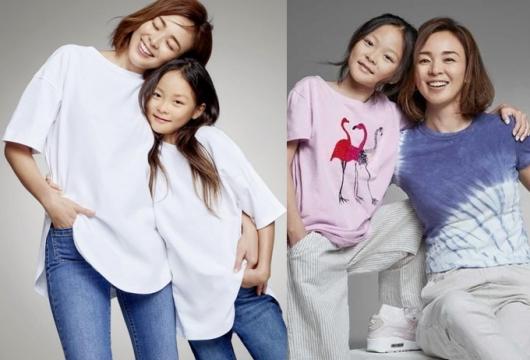 추사랑, 日 모델 데뷔…엄마 야노시호와 화보 속 긴 다리 '눈길'