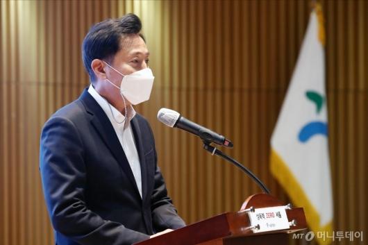 [사진]인사말하는 오세훈 서울시장