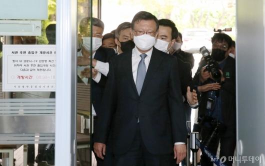 [사진]구속 갈림길 선 박삼구 전 회장