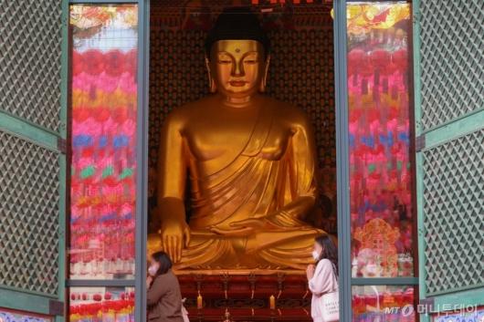 [사진]부처님 오신 날 앞둔 조계사