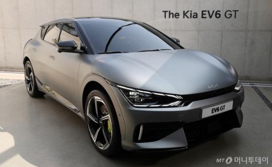 [사진]내년 공개될 'The Kia EV6 GT'