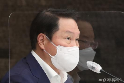 [사진]발언하는 최태원 회장