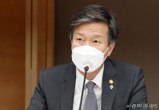 [사진]발언하는 김대지 국세청장