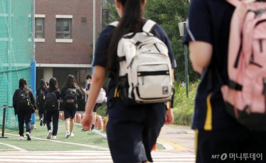 [사진]수도권 중학교 등교 확대