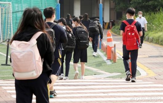 [사진]중학생 등교 확대