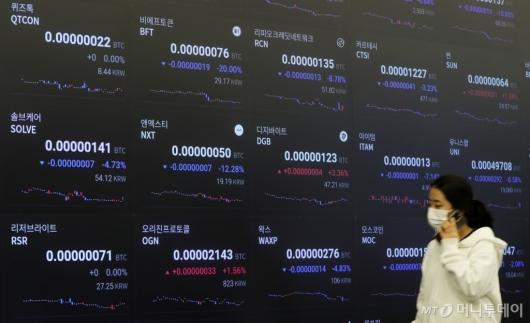 [사진]폭락하는 암호화폐 시장