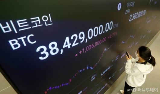 [사진]비트코인 연일 급락