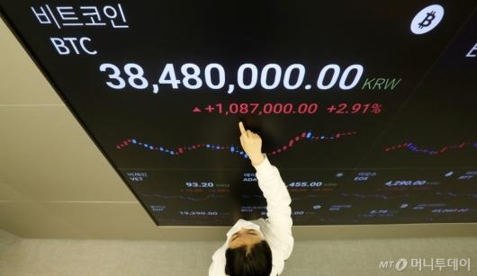 [사진]4000만원대 무너진 비트코인