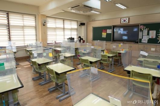 [사진]수도권 학교 전면 원격수업