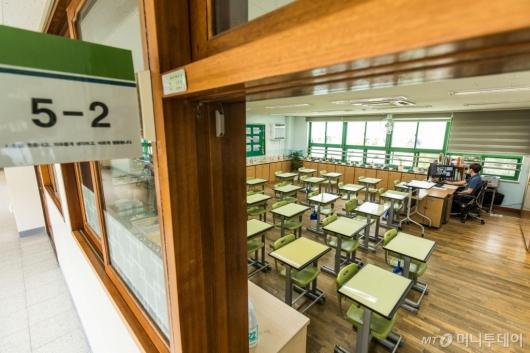 [사진]수도권 학교 원격수업 시행