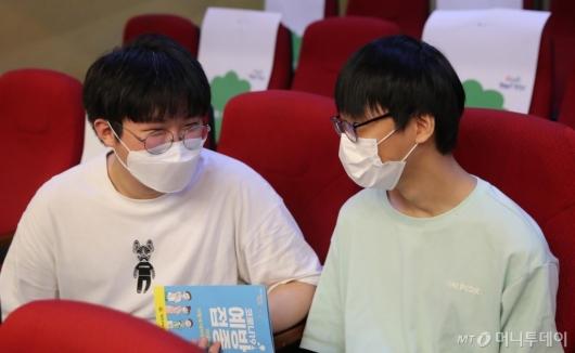 [사진]백신 맞은 학생들
