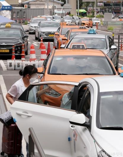 [사진]오늘부터 법인 택시기사 8만명 80만원 지급