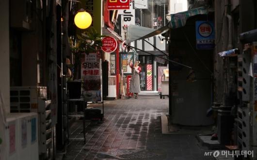 [사진]거리두기 재연장, 자영업자 한숨만