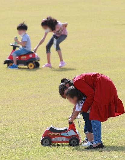 [사진]야외활동 즐기는 아프간 아이들