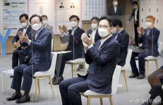 [사진]공식일정 참석한 이재용 부회장