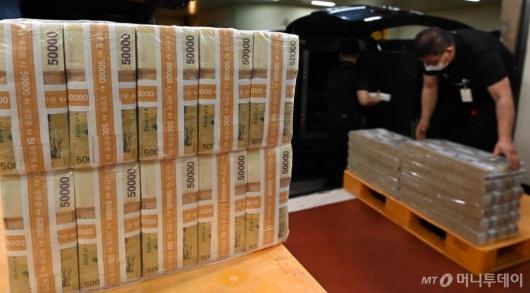 [사진]시중은행으로 풀리는 추석자금