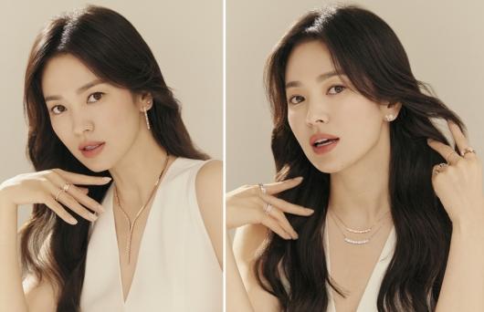 송혜교, 변함없는 방부제 미모…상큼한 표정