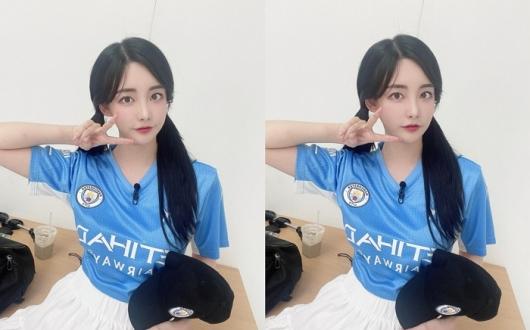 곽민선 아나, 수원삼성 선수와 열애설…