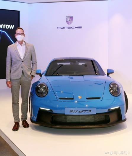 [사진]포르쉐코리아, 신형 '911 GT3' 국내 출시