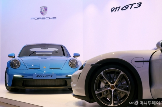 [사진]포르쉐 '911 GT3-타이칸 크로스 투리스모' 국내 출시
