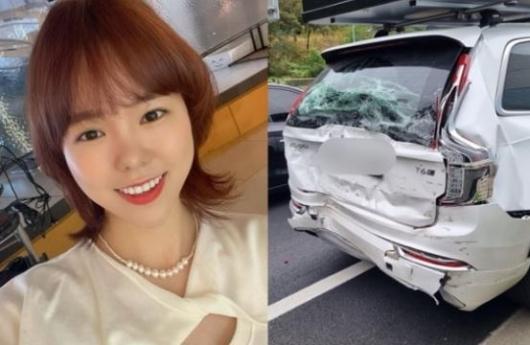 '25톤 트럭'과 추돌하고도 멀쩡…박지윤·하준맘 가족 지킨 차는?