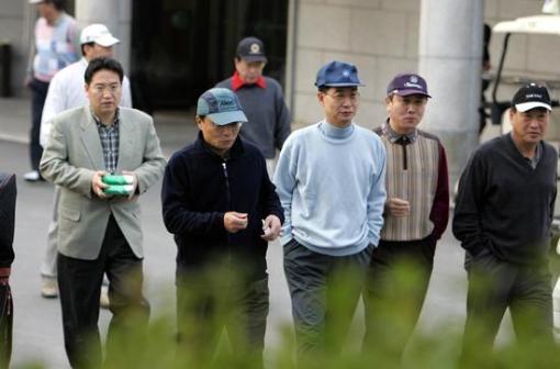 李총리-경제단체장 전격 골프회동(상보)