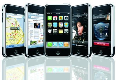 ↑ 국내서도 32만대가 판매된 애플의 '아이폰'