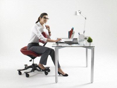 ↑ 우리들생명과학이 만든 신개념의자 '우리들체어'