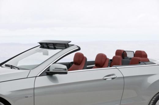 ↑ E350 카브리올레의 '에어캡'