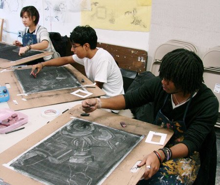 ↑뉴욕 School of Visual Art (SVA).