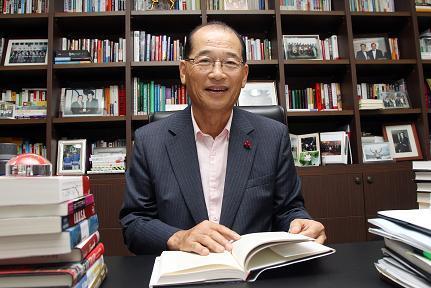 ↑ 윤병청 사회복지공동모금회 회장ⓒ임성균 기자
